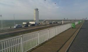 Afsluitdijk Friesland dike