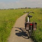 bike scenery fiets landschap