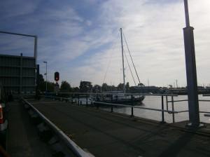 Boats boat at bridge boot brug