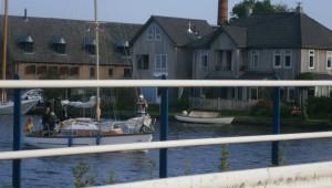 Boats boat bridge brug boot