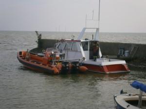Boats lifeboat boat harbor port boot haventje reddingsboot