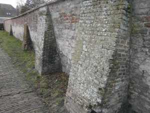 Castle-Haamstede-wall