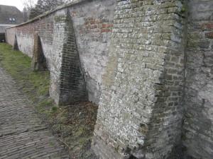 Castle-Haamstede-wall