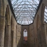 Buildings Church Bolsward glass roof kerk Bolsward glazen dak