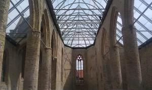 Buildings Church Bolsward glass roof kerk Bolsward glazen dak