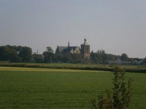 Church Workum Friesland Nederland Netherlands
