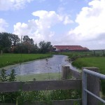 Buildings Farmhouse Friesland Nederland boerderij