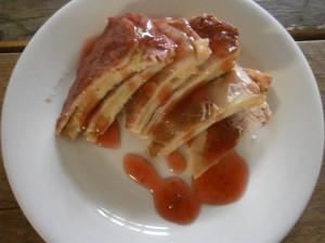 Food pancakepie pannenkoekentaart