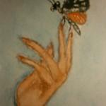 Paintings butterfly vlinder waterverf schilderij