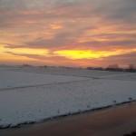 sky sunset lucht zonsondergang