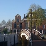 Dokkum Friesland Nederland bridge brug