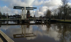 Bridge Dokkum Friesland Nederland