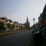 Bolsward shopping area winkelstraat