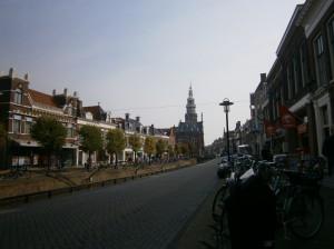 Bolsward shopping area winkelstraat