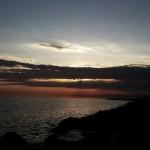 IJsselmeer Friesland Nederland sky sunset lucht zonsondergang