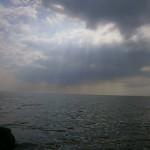 IJsselmeer Friesland Nederland sky sunset lucht zonsondergang ederland