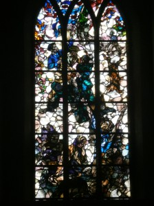 Church Window glas in lood raam kerkraam
