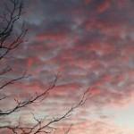 Sunset Sky lucht zonsondergang