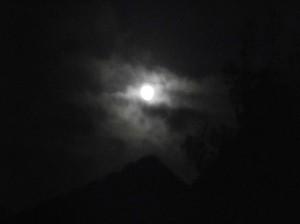 Sunset Sky lucht zonsondergang maan
