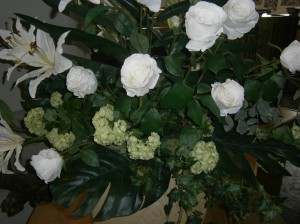 Floral White roses