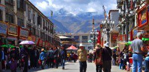 Old Lhasa city