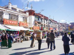 Tibet shopping street