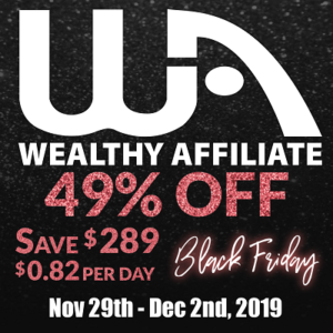 WA black Friday offer 2019